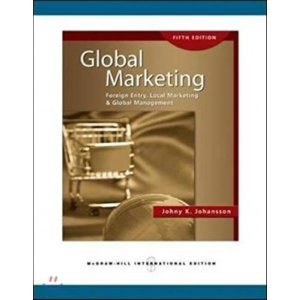 Global Marketing  5 E : Foreign Entry  Local Marketing and Global Management  Johny K  Johansson