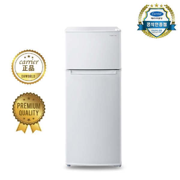 (현대Hmall) 캐리어  공식인증점 클라윈드 슬림형 냉장고(155L) CRF-TD155WDE  무상방문설치