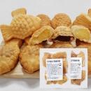 우리밀 고구마 붕어빵 1봉+슈크림 붕어빵 1봉/간식 빵