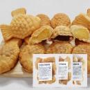 우리밀 붕어빵 3가지맛 세트(통팥1 고구마1 슈크림1)