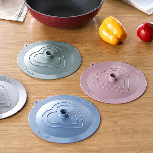 실리콘 후라이팬 뚜껑 덮개 커버 22cm 그릇덮개