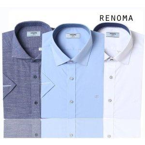 레노마_셔츠(남성)  2020 레노마 여름 드레스캐주얼 반팔셔츠 30가지 중택1