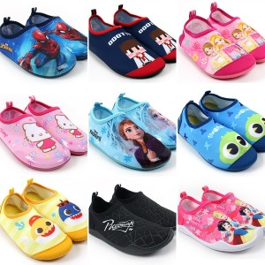 아동 아쿠아슈즈 유아 어린이 캐릭터 물놀이 신발