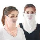 (인증) 라인 매쉬 쿨마스크/자외선차단 여름 마스크