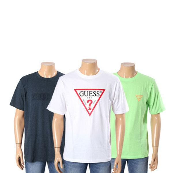 남여공용 엠보 게스 반팔 티셔츠 MK2K8430외 5종 택1