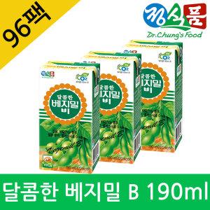 달콤한 베지밀B 비 두유 190ml x96팩