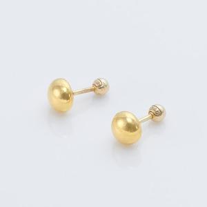 24k 순금 1.875g 하프볼 피어싱 귀걸이 (1개)