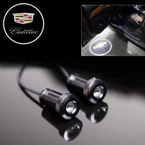 도어라이트 LED 도어램프 도어빔 매립형 캐딜락 로고