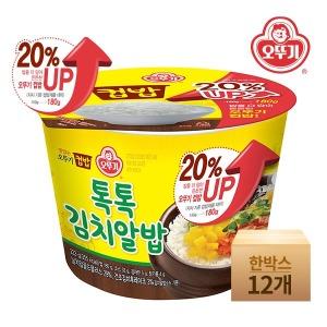 컵밥 톡톡김치알밥 (증량)222gx12개(한박스)