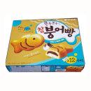 다과 탕비 간식 파이 참붕어빵 12마리/348g