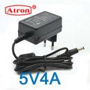 아답터 5V4A 어댑터 충전기 LED CCTV 공유기 벽부형