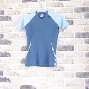 헬리한센 / 새옷수준 메쉬 저지 브이넥 티셔츠/여성XS