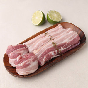 백두한돈_돼지삼겹살_100 g