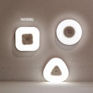 사각 LED 센서등 동작감지 전등 수유등거실등 NW958Q