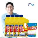 피죤 무균무때 바닥청소 세정제 1L 4개 +사은품