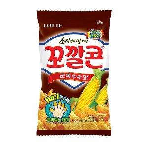 (10+1)롯데_꼬깔콘군옥수수맛_42G