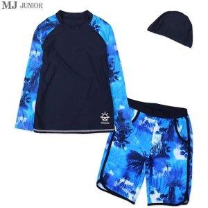 MJ JUNIOR 남주니어래쉬가드세트BR7707(여름)2