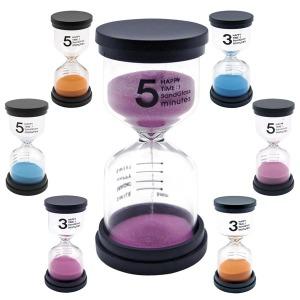 모래시계/타이머/욕실용시계/장식용시계/3분/5분