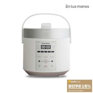 3-4인용 압력 밥솥 소형 전기미니 이유식자취생화이트
