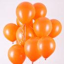 네오룬즈 13cm 라운드풍선 스탠다드 (오렌지) 100개입