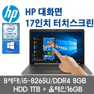 17-BY072CL/i5-8265U/8G/HDD1TB/17인치/윈도우10