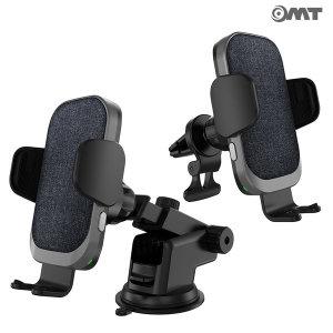 OMT 15W 고속 FOD센서 무선충전거치대 차량용품 CF-20