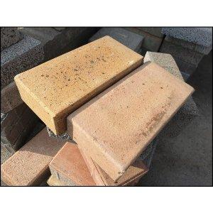 벽돌 보도블럭 적벽돌 인테리어 NEW점토블럭15장 1박스