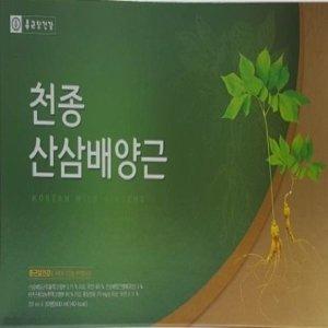 종근당 천종산삼배양근30병/인삼 홍삼/추석 설날선물