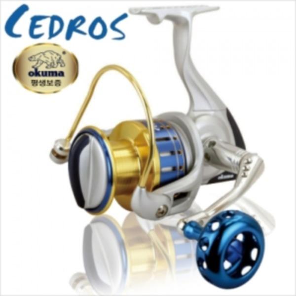 파란 거상 오쿠마-세드로스 CEDROS/솔트워터 릴 정품