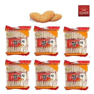 순수쌀과자 고소한맛280g x 6봉   /옛날과자/수입식품