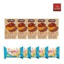 삼아 초코와플5개 + 꼬마웨하스 바닐라맛5개  /쿠키