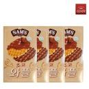 삼아 Sams 초코와플 64g x 4개 할인  /과자/비스켓