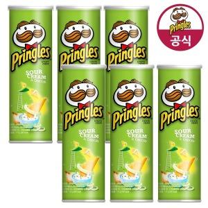 프링글스 양파맛 110g 6개 - 상품 이미지
