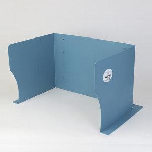 스터디칸 집중력향상 고급형 공부칸막이 블루