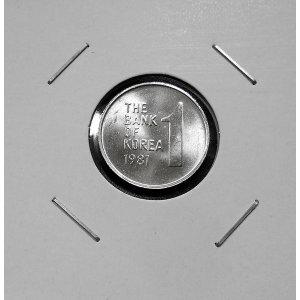 한국은행 1원 주화 1981년 미사용 동전