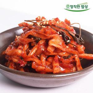 반찬 항아리식 무말랭이무침1kg 집밥 단짠단짠 밥도둑