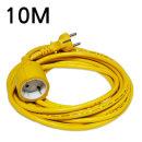 전등선 전원 연장케이블/전기연장선 1구(동양)-10m