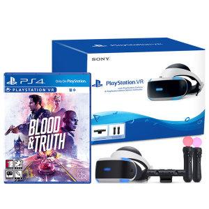 PS4/PSVR 신형 본체 플레이스테이션VR 3번셋 +블러드앤