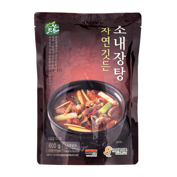 선봉식품 소내장탕 600g 2개 상온보관