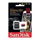 마이크로SD 익스트림 프로 32GB 4K MLC V30 UHS-I U3