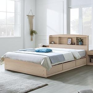 하포스 국내산 통서랍 침대프레임