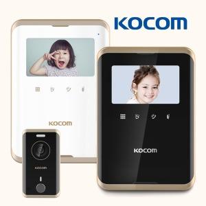 코콤 비디오폰 엣지디자인 KCV-R431E 초인종세트
