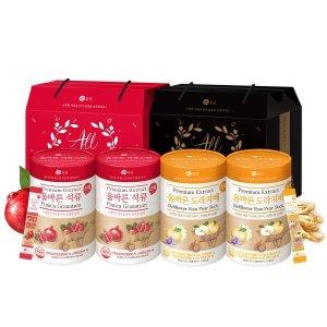 선물상자포함  올바른 석류/도라지배스틱 50 x 2박스 (택1)