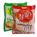 크라운 참쌀선과 253g+ 참쌀설병 270g 과자 간식 쌀