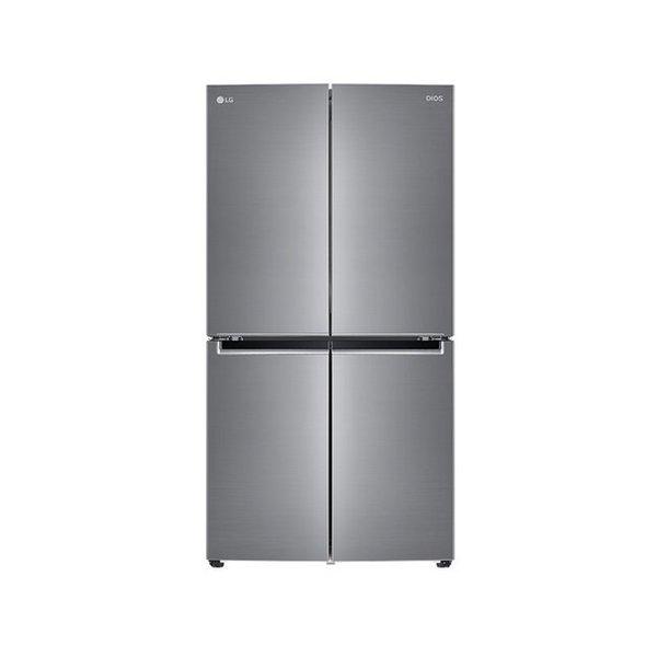 LG 디오스 4도어 양문형냉장고  F873S11E  870L