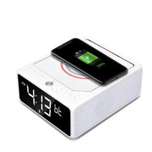 LC-10W 블루투스스피커 CD플레이어 스마트폰 무선충전