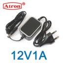 아답터12V1A CCTV LED 어댑터 전원케이블일체형