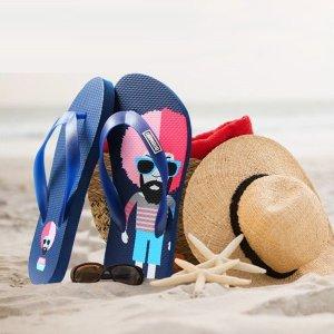 밥미키 플립플랍 여성 남성 쪼리 여름 샌들 슬리퍼