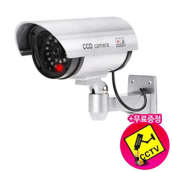 다감컴퍼니 모형CCTV 최고급형 리얼캠 적외선(IR) 실버