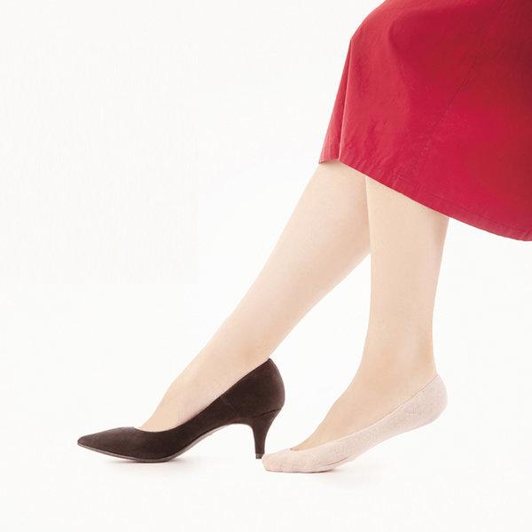 발 앞꿈치 양말 덧신 보호 패드 발바닥 쿠션 면혼방